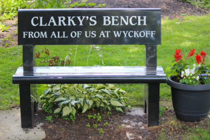 Clarky's Bench - Wyckoff Country Club