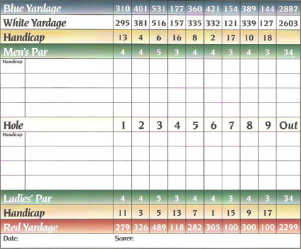Front Nine - Wyckoff Country Club